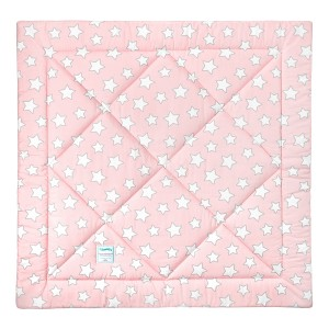 Podložka na hraní / k týpí - Pink Grey Stars