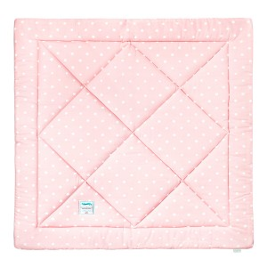 Podložka na hraní / k týpí - Lovely Dots Pink Grey