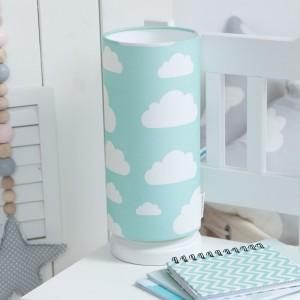 Dětská noční lampička - Cloud Mint