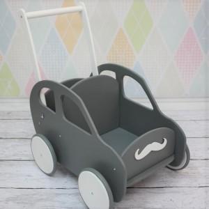 Dřevěný vozík / auto - Různé barvy