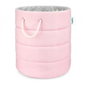 Koš na hračky Classic Pink Grey