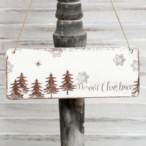 Vánoční tabulka Merry Christmas