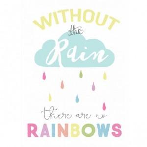 Dětský plakát / obrázek 30x40 - Rainbow