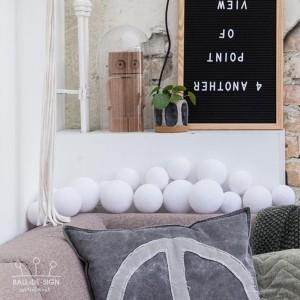 Světelné koule Premium Whites - 20 LED