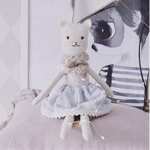 Kočička panenka NINA - 40 cm