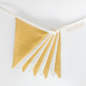 Vlaječky - Žluté / krémové