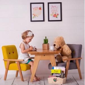 SET 2KS Dětské křesílka - různé barvy