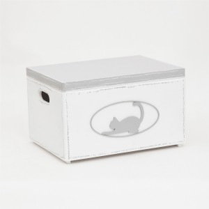 Bedýnka velká bílá - kocour