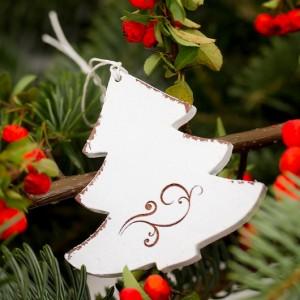stromeček s ornamentem - 7 cm