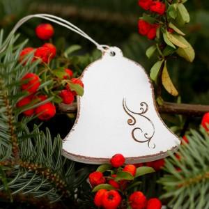 Zvoneček s ornamentem - 7 cm