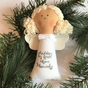 Andílek na zavěšení - Pro maminky