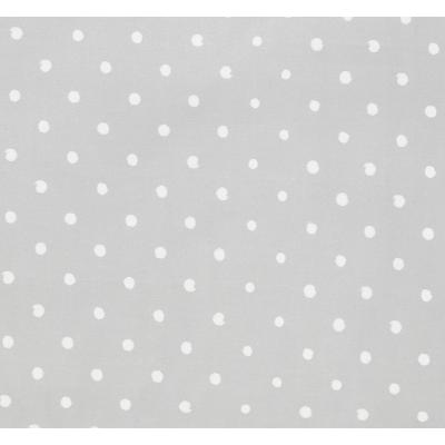 Prostěradlo do postýlky - Lovely Dots Grey