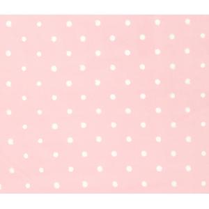 Prostěradlo do postýlky - Lovely Dots Pink