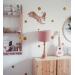 Dětský lustr - velvet Pink