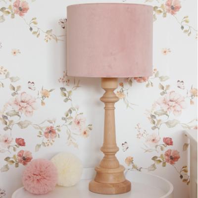 Stolní lampa - velvet pink