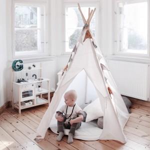 Dětské Týpí / Teepee - Len bílé