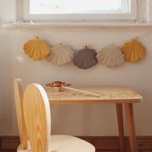Girlanda mušličky - Písek a slunce