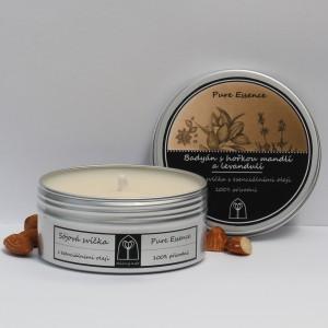 Sójová svíčka Badyán s hořkou mandlí a levandulí 150 ml
