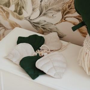 Girlanda listy - zelené
