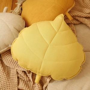 Polštář - list lněný Medový