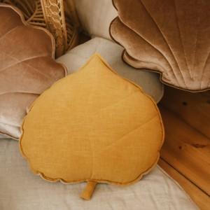 Polštář - list lněný Mango