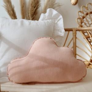 Polštář - mráček Světle růžový