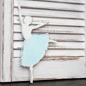 Tančící baletka 15cm - modrá