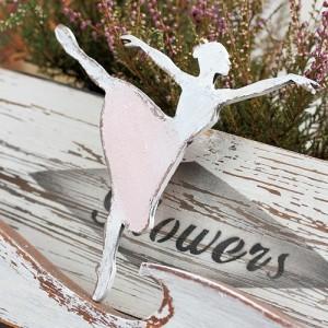 Tančící baletka 15cm - růžová