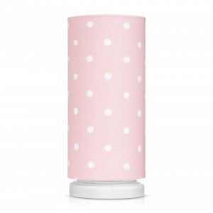 SKLADEM - Dětská noční lampička - Lovely Dots Pink
