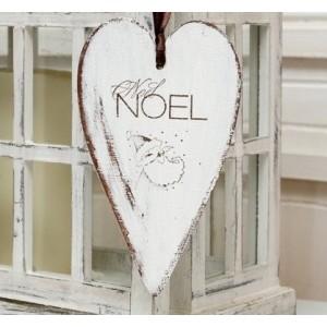 Závěsné srdce Noel - 20,5cm