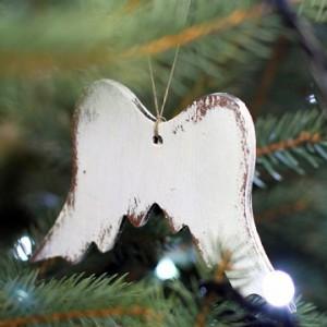 Závěska andělské křídla - 7cm