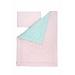 Souprava polštář a přikrývka - Pink / Mint Stars
