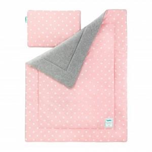 Dětská teplá deka - Lovely Dots Pink