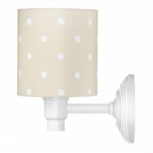 Nástěnná lampa - Lovely Dots Beige