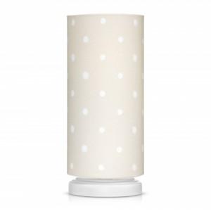 Noční lampička pro děti - Lovely Dots beige