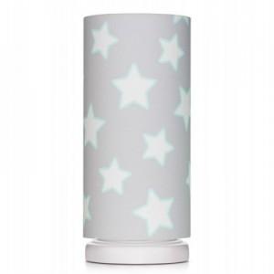 Dětská noční lampička - Grey Stars