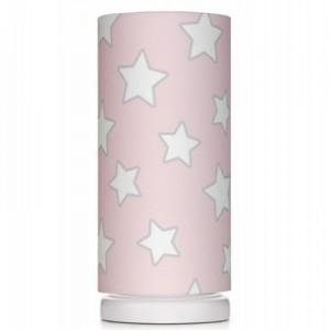 Dětská noční lampička - Pink Stars