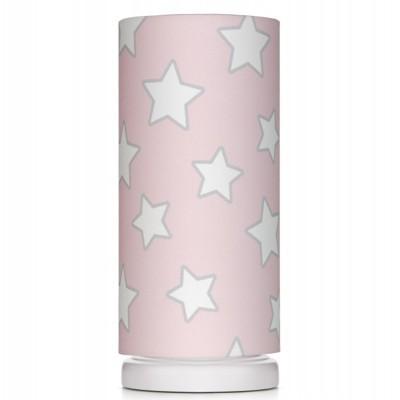 Noční lampička pro děti - Pink Stars