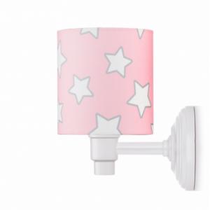 Nástěnná lampa - Pink Stars