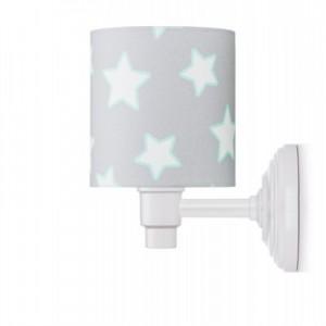 Nástěnná lampa - Grey Stars