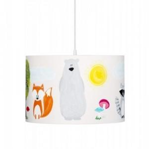 Dětský lustr - Přátelé z lesa