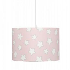 Dětský lustr - Pink Stars