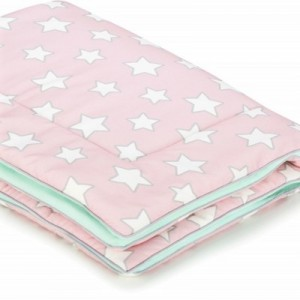 Dětská teplá deka - Pink Stars