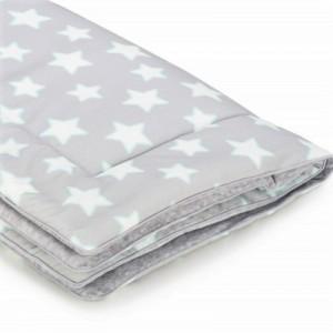 Dětská teplá deka - Grey Stars