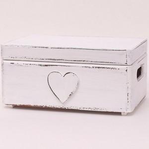 Bedýnka bílá - Srdce