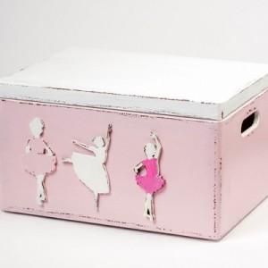 Bedýnka velká růžová - Baletky