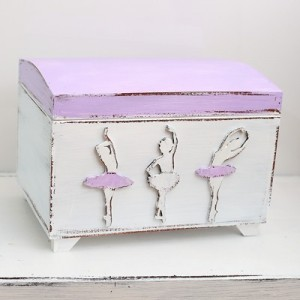 Truhla na poklady - Baletky fialové