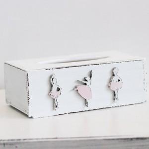 Krabička na kapesníky - Baletky