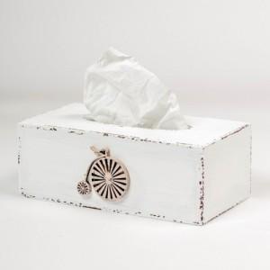 Krabička na kapesníky - Retro