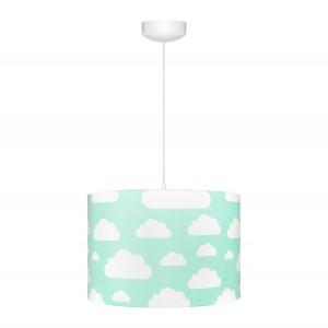 Dětský lustr - Cloud Mint